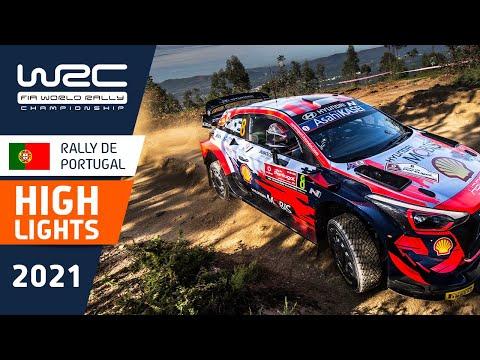 WRC 2021 第4戦ラリー・ポルトガル SS8ハイライト動画