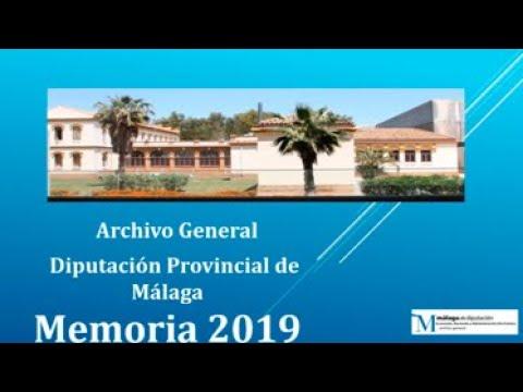 Memoria de gestión 2019