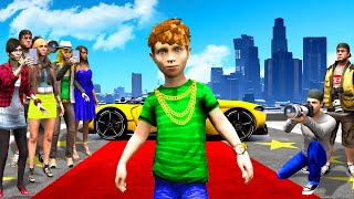 PLAYING as the MOST FAMOUS KID in GTA 5!