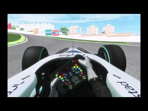 F1 2009 (rFactor 2) Brazilian Grand Prix Round 16 100% Difficulty