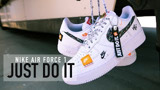 FIRST LOOK: Nike Air Force 1 'Just Do It' | SHIEKH