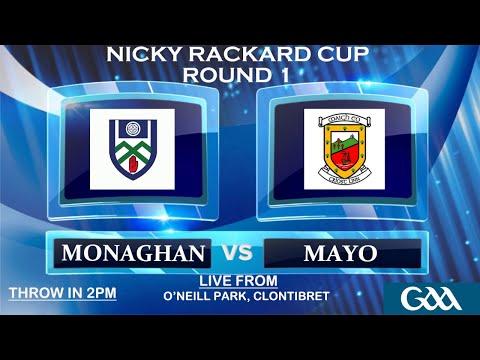 Monaghan v Mayo - Nicky Rackard Cup - Round 1