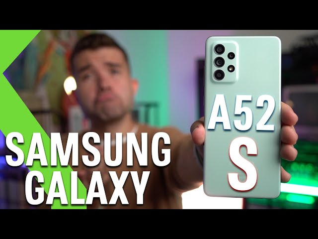 SAMSUNG GALAXY A52S 5G ANÁLISIS - ¿ERA NECESARIO SAMSUNG?