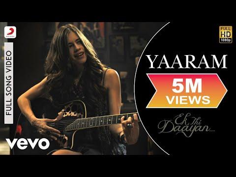 Yaaram Full Video - Ek Thi Daayan|Emraan, Kalki, Huma|Sunidhi Chauhan, Clinton Cerejo