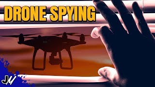 Drone Spying - Is It Illegal?