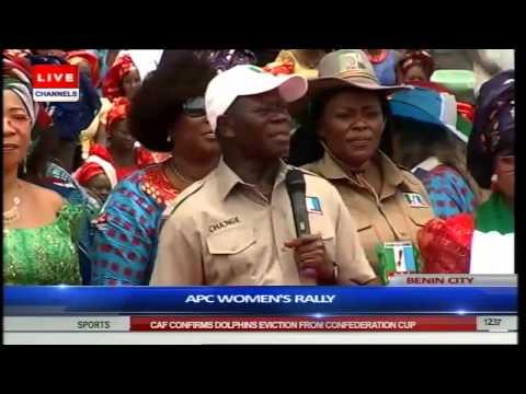 Oshiomhole Hosts Aisha Buhari For Benin APC Women Rally Part 2