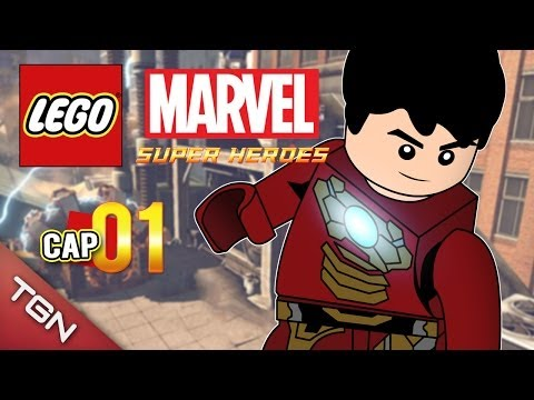 Gameplay de LEGO Marvel Super Heroes