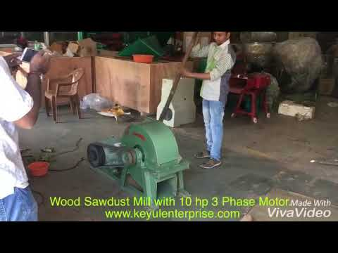 Dynamic agro machines wood chipper powder mill.