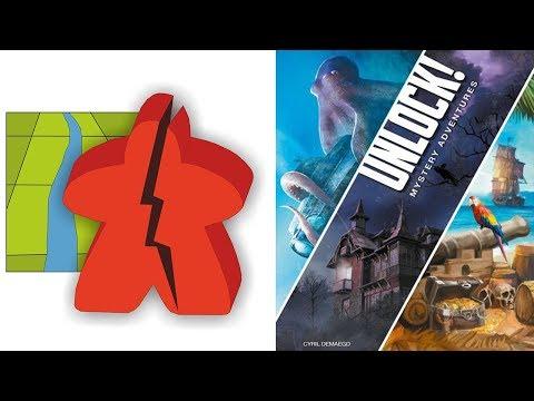 The Broken Meeple - Unlock: Mystery Adventures Review