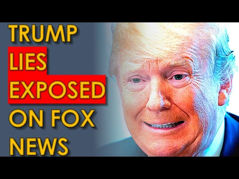 Trump LIES totally EXPOSED Live on Fox News