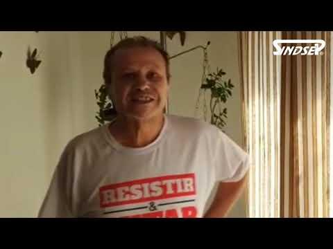 João Batista, dirigente do Sindsep e CUT, chama servidores à defesa dos direitos e pelo Fora Bolsonaro