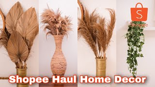 SHOPEE HAUL II HOME DECOR MURAH