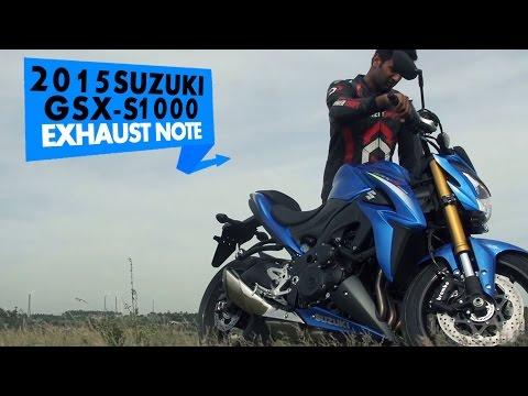 2015 Suzuki GSX-S1000 | Exhaust note | PowerDrift