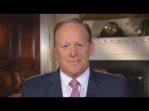 Sean Spicer: President Trump didn't want me to go