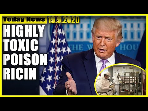 Trump was 'mailed package of highly toxic poison ricin that was intercepted by law enforcement
