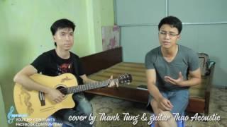 Chờ anh nhé cover by Thanh Tùng ft guitar Thạo Acoustic - SVMusic 3