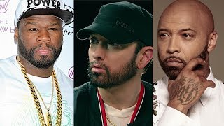 "50 Cent Threatens Joe Budden Over Eminem Comments... ""I Owe You An A** Whooping Joe"""