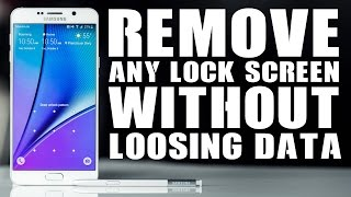 How to Unlock Pattern Lock on Android Without Loosing Data, Without USB Debugging