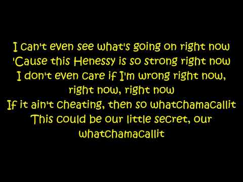 Ella Mai Ft. Chris Brown - Whatchamacallit (Lyrics On Screen) - EtxaBreezy10