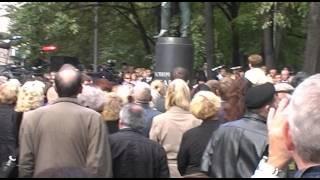 Муслим Магомаев, Церемония Открытия памятника Муслиму Магомаеву