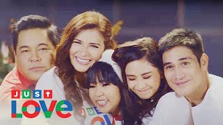 """ABS-CBN Christmas Station ID 2017 """"Just Love Ngayong Christmas"""" Recording Lyric Video"""