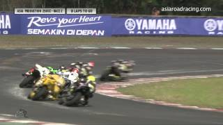 Bikes - Sentul2015 Asia Production 250cc Race 2 Full Race
