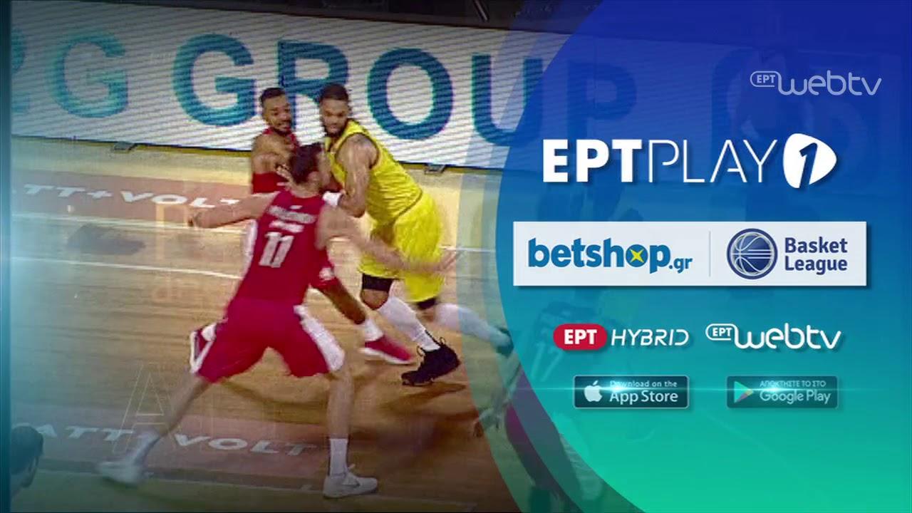Προμηθέας – Άρης | Basket League | 15/12/2018 | ΕΡΤ