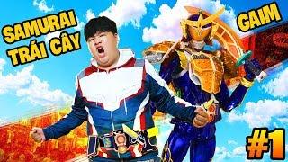 SIÊU NHÂN SAMURAI TRÁI CÂY XUẤT HIỆN !! | KAMEN RIDER TẬP 1 (Mazk Game Bựa )