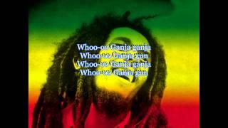 bob marley ganja gun lyrics