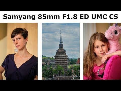 Am cumparat obiectivul Samyang/Rokinon 85mm F1.8 ED UMC CS pentru Fujifilm X numai pentru portrete