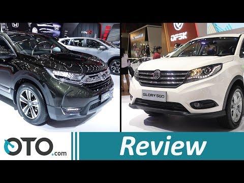 DFSK Glory 580 vs Honda CR-V | Review | Adu Fitur, Siapa Unggul? | OTO.com