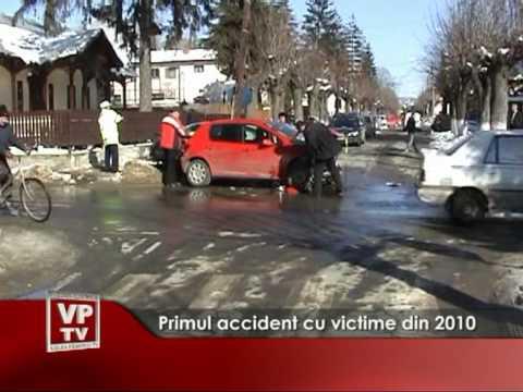 Primul accident cu victime din 2010
