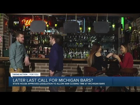Later last call for Michigan bars?