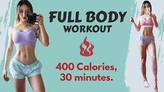 At Home Intense Full Body 30-min Workout