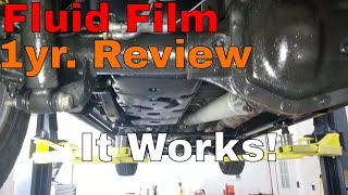 Fluid Film Review After 1 Year... It Works.