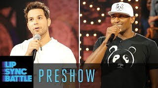 Skylar Astin Metta World Peace were on this week's Preshow and both were absolute delights