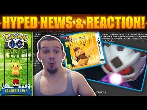 Detective Pikachu ANNOUNCEMENT! Pokemon GO EVENT! EPIC TRAILER REACTION!!!