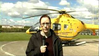 NHS Scotland Flying Doctors Rollout announced by Health Minister Nicola Sturgeon 02/03/2010