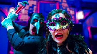 Terrifying Masquerade Party in 3D 360!!