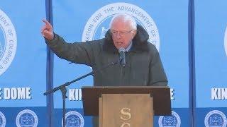 Sen. Bernie Sanders speaks at MLK Event in Columbia, SC