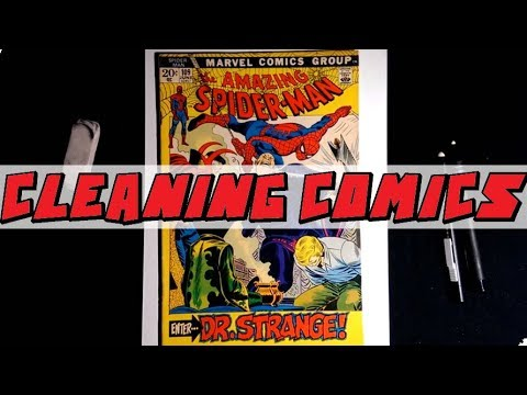 Dry Cleaning Comic Books