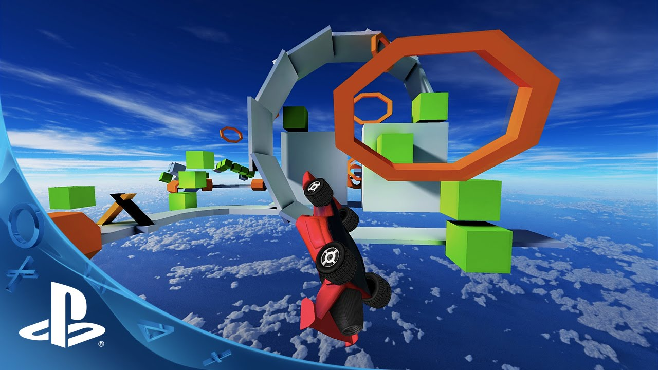 Jet Car Stunts Launches on PS3, Vita Tuesday