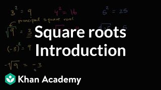 Introduction To Square Roots