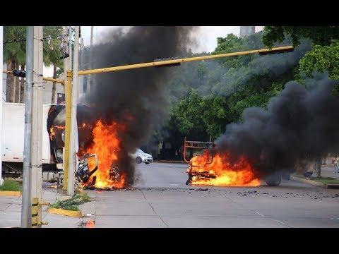 El Chapo: Images of fierce gun battle to free Guzman's son