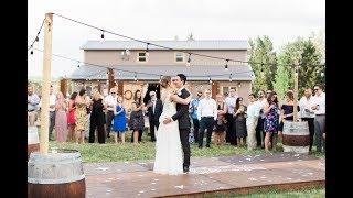 Calgary Wedding Photographer: Rustic Charm Wedding at Hidden Springs Ranch Cochrane - Video Clip