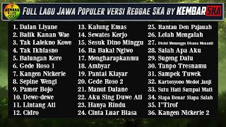 Full Album Lagu Jawa Reggae SKA Version by Kembar SKA...