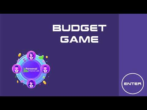 Personal Finance Lab - Budget Game Teaser