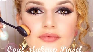 Oval Makeup Pinsel im Test by missalbulena