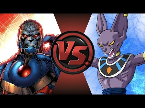 NEW 52 DARKSEID vs BEERUS! Cartoon Fight Club Episode 112