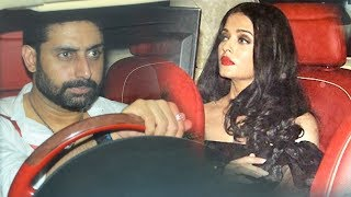 Aishwarya Rai And Abhishek Bachchan At Karan Johar's Birthday Bash